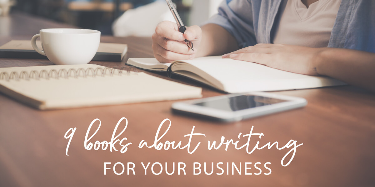 9 books about writing for your business
